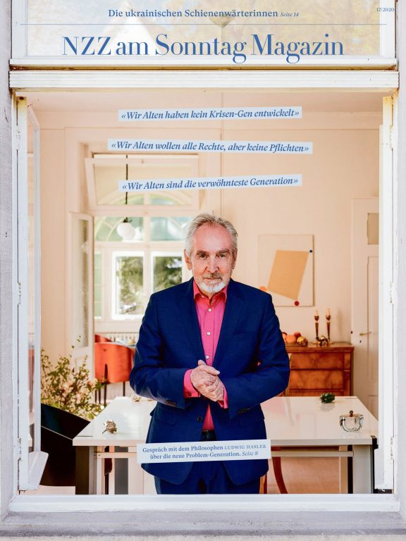Ludwig Hasler for NZZ am Sonntag Magazin